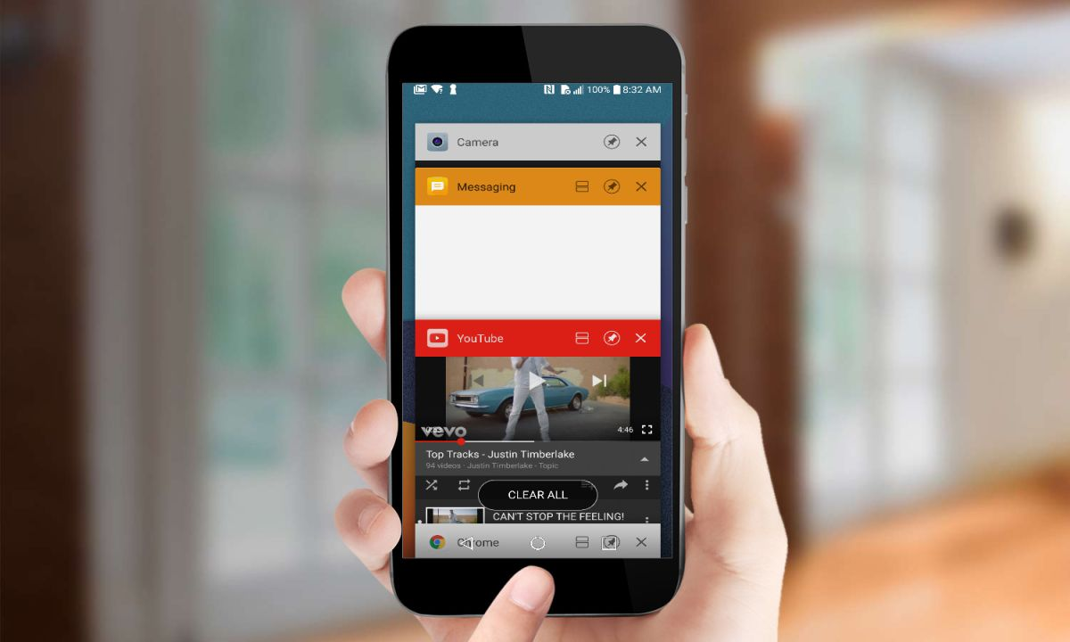 Close Background Apps on Android Phone