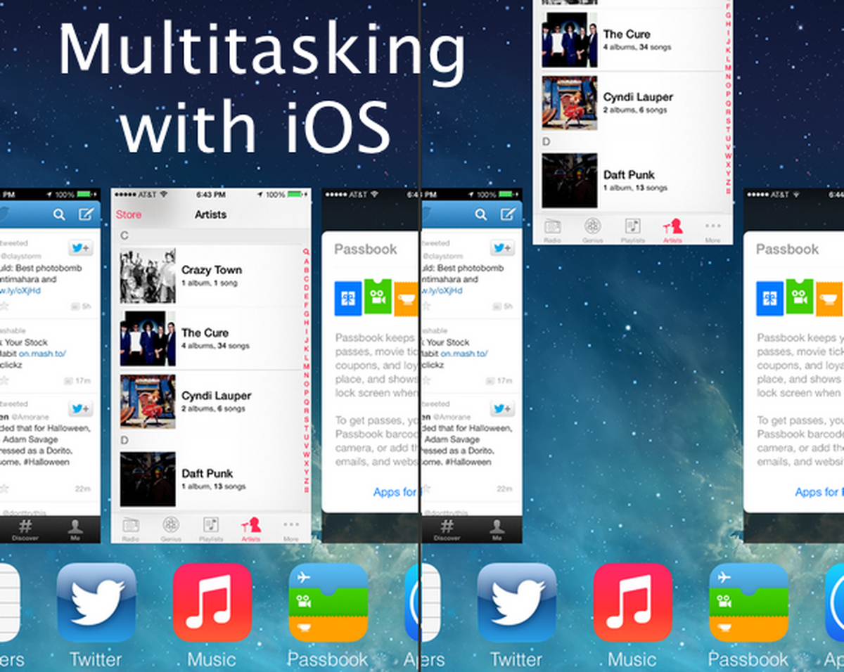 Everything Need to Know About iPhone Multitasking