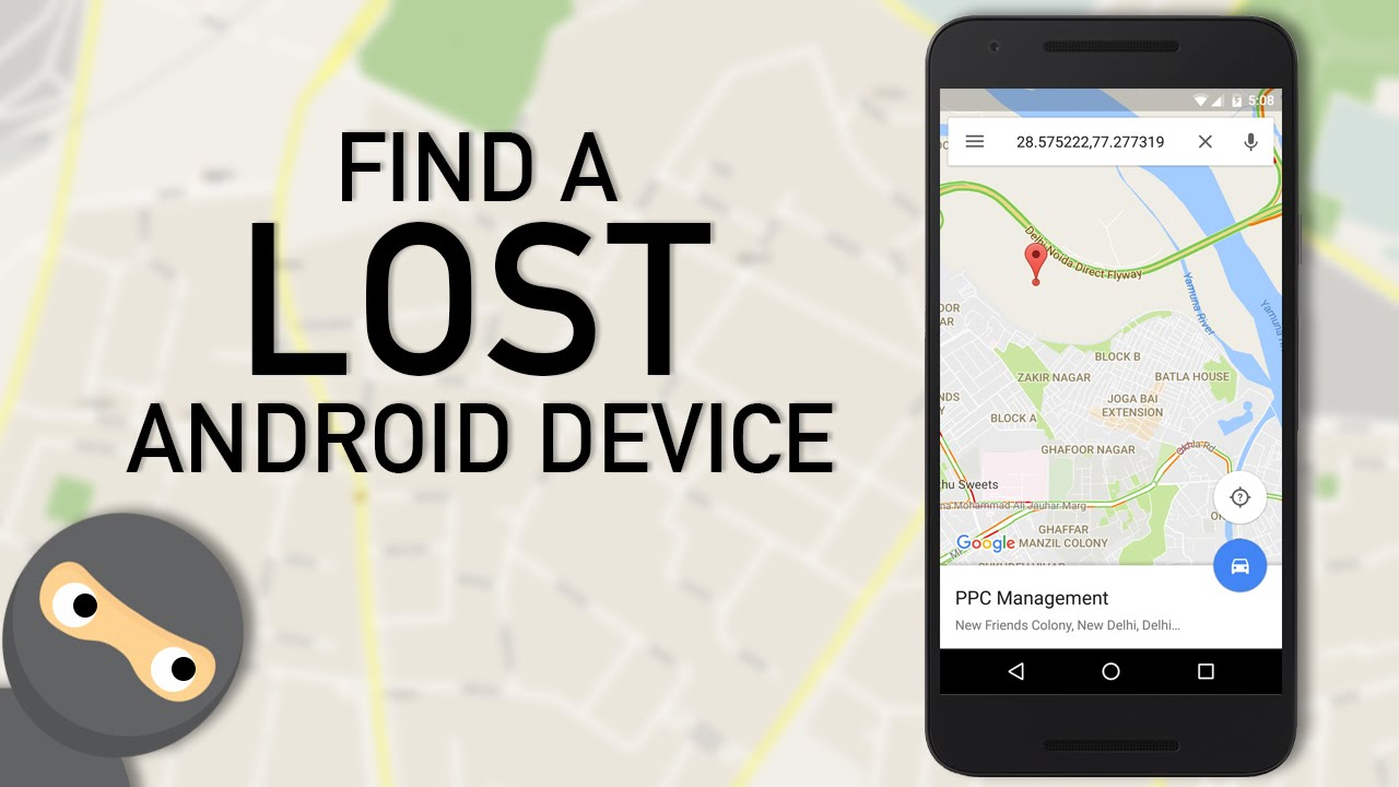 find lost or stolen android phone