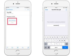 How to remove password from PDF in iPhone